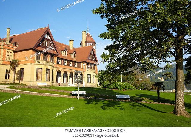 Miramar Palace. Donostia. San Sebastian. Gipuzkoa. Basque Country. Spain