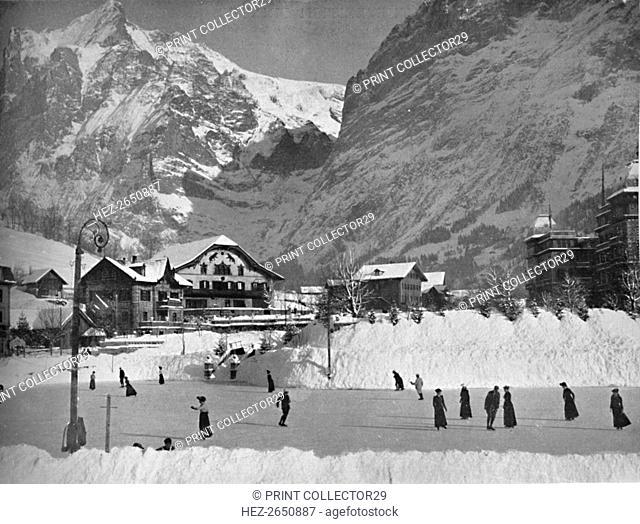 'Grindelwald in Winter', 1910. Artist: John Swain & Son