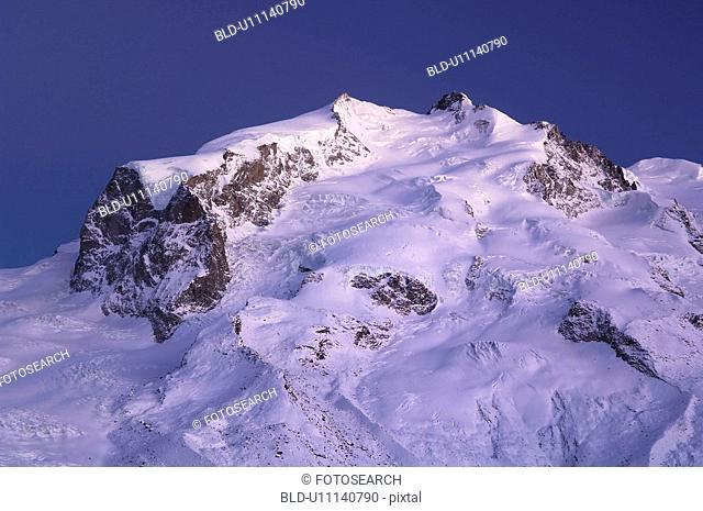 bergruecken, area, bergkuppe, bergkegel, ascent, dufourspitze, Alps