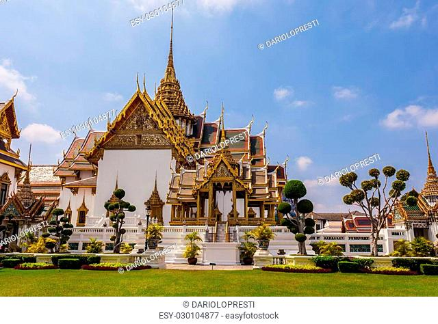 Phra Thinang Dusit Maha Prasat in Royal Palace Bangkok, Thailand