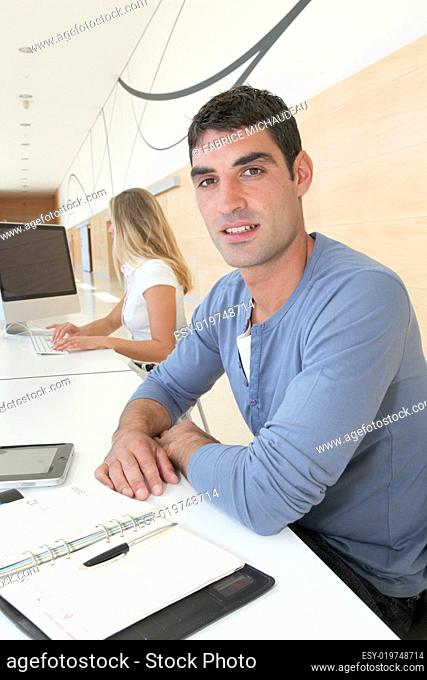 Portrait of young office worker