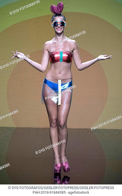 Desiree Cordero Ferrer at the Agatha Ruiz de la Prada Fashion Show during the Swimwear Fashion Week Gran Canaria Moda Cálida 2017. Meloneras, 16.06