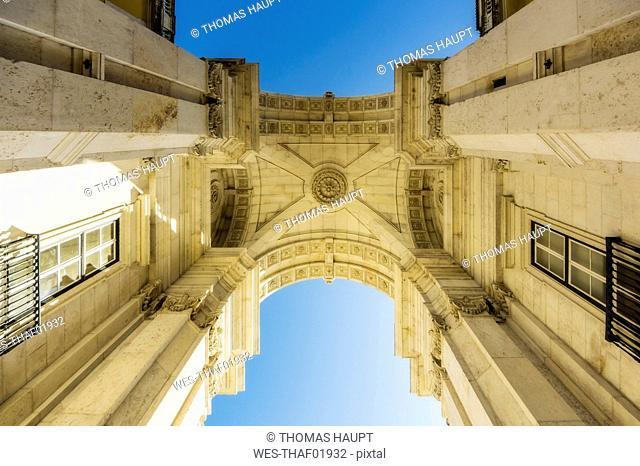 Portugal, Lisbon, Arco da Rua Augusta