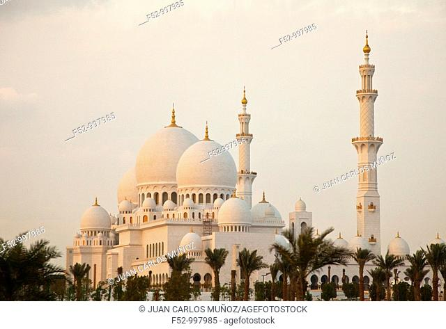 Emirate of Abu Dhabi. EAU. Persian Gulf. Arabia
