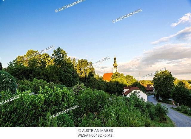 Austria, Upper Austria, Tumeltsham, St. Vitus Church