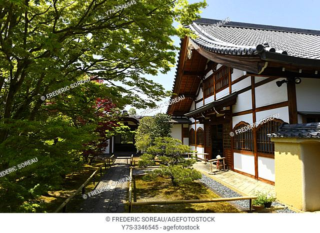 Daitoku-ji complex of Buddhist temple in Kyoto, Japan, Asia