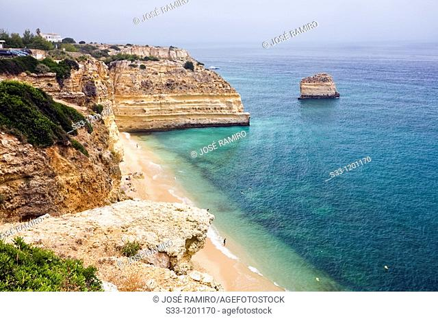 Marina beach The Algarve Portugal