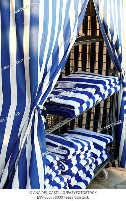 Striped Towels Resort hotel in Costa Blanca, Spain