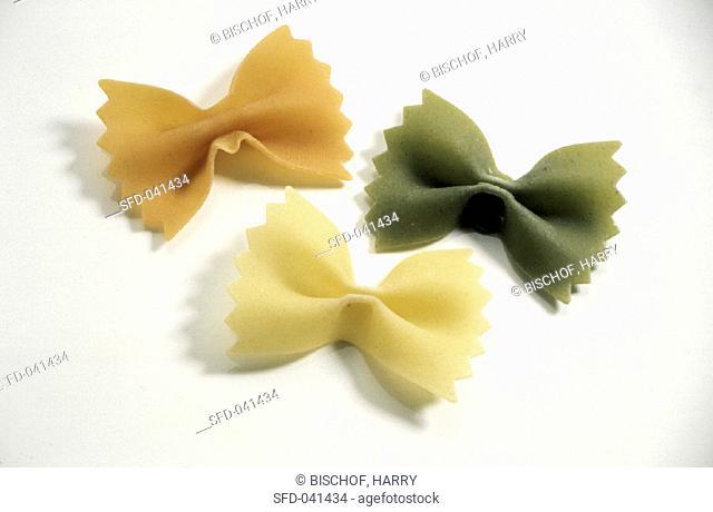 Tri-color Farfalle Pasta