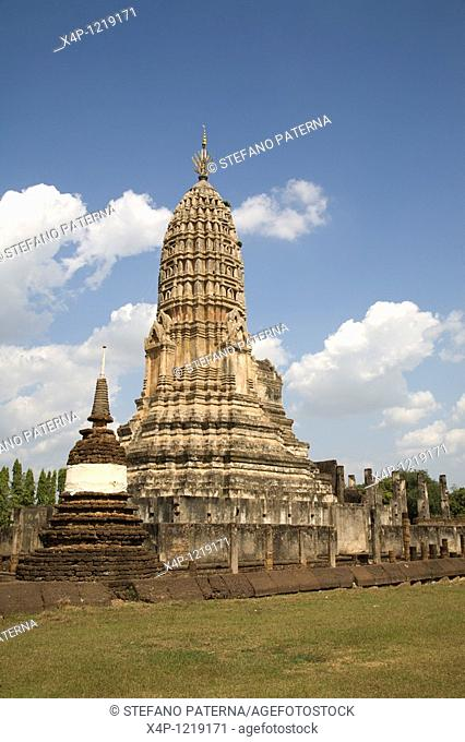 Wat Phra Si Rattana Mahathat. Si Satchanalai, Thailand