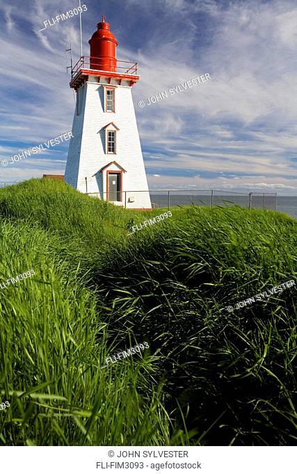 Souris Harbour Lighthouse, Souris, Prince Edward Island