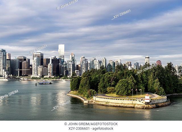 Waterfront Park. North Vancouver, British Columbia, Canada