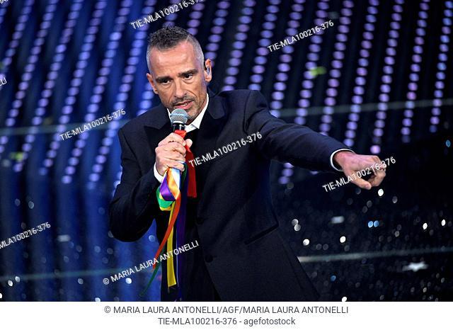Eros Ramazzotti during during 66th Sanremo Music Festival. Sanremo. Italy 10/02/2016