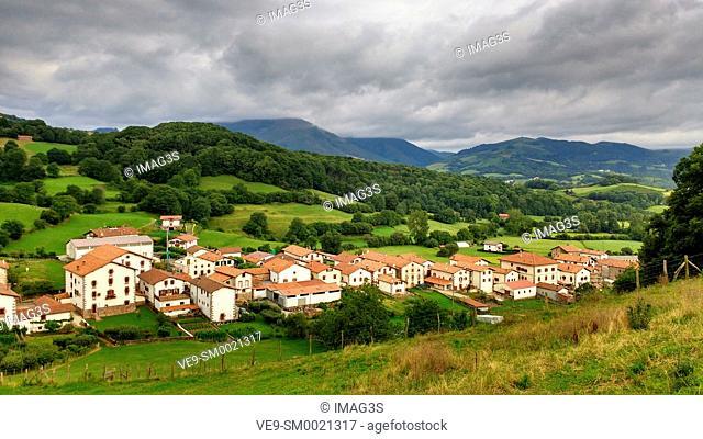 Amaiur, Baztán valley. Navarre. Spain