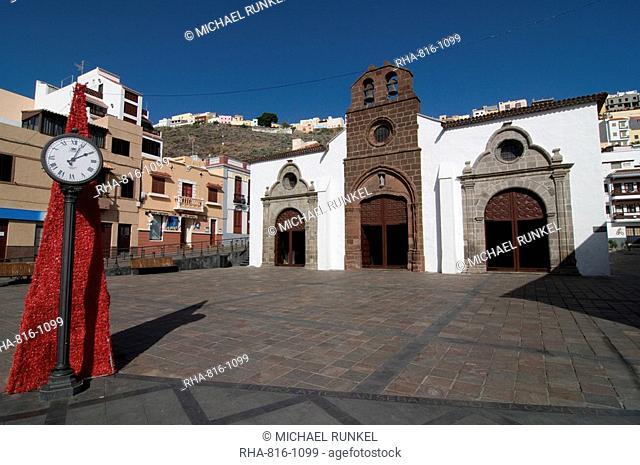 Iglesia de la Virgen de Asuncion, San Sebastian de la Gomera, La Gomera, Canary Islands, Spain, Europe