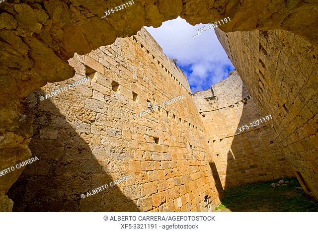Castle of Berlanga de Duero, 12-15th Century, Berlanga de Duero, Soria, Castilla y León, Spain, Europe