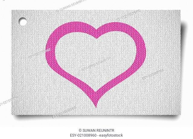 greeting, wedding or birthday card with heart