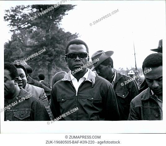 May 05, 1968 - Sidney Poitier at Resurrection city. (Credit Image: © Keystone Press Agency/Keystone USA via ZUMAPRESS.com)