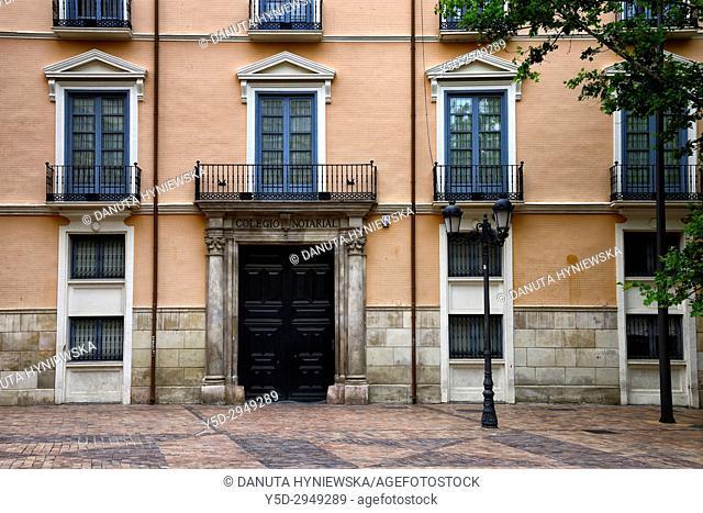 Plaza del Justicia, old historic part of Zaragoza, Saragossa, Aragón, Spain, Europe