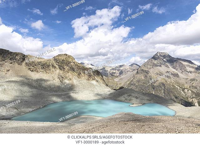 Lej Lagrev, Silvaplana, Canton of Graubünden, Engadine, Switzerland, Europe