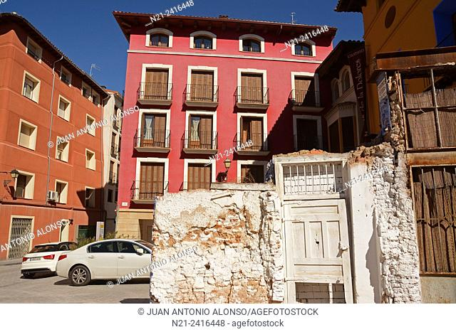 Refurbishment of the old quarter. Calatayud, Zaragoza, Aragón, Spain, Europe