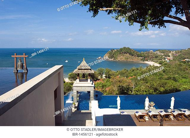 Pool, luxury hotel Pimalai Resort, Kantiang Beach, Ko Lanta or Koh Lanta island, Krabi, Thailand, Asia
