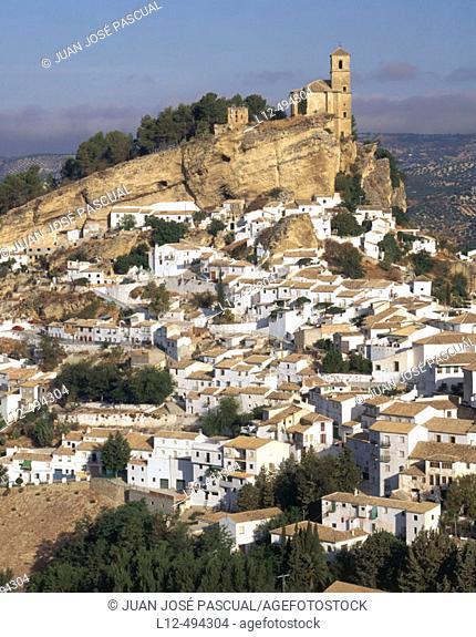 Montefrío. Granada province, Andalusia, Spain