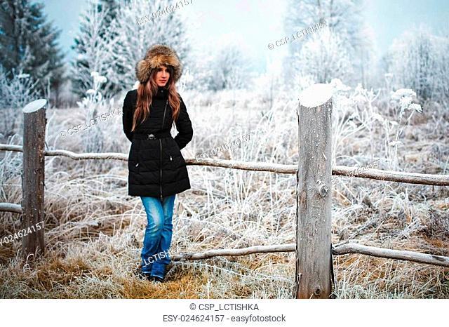 Girl winter