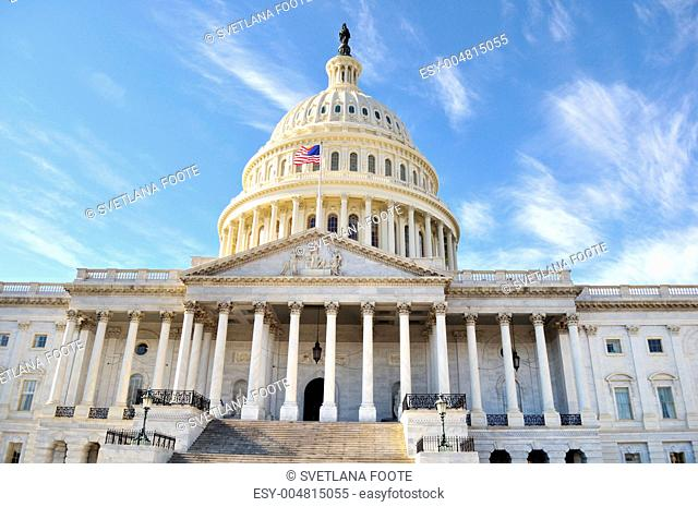 Capitol Hill Building . Washington DC