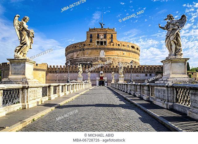 Saint Angel Castle in Rome, Italy