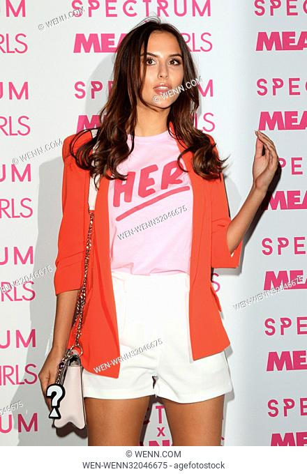 Spectrum x Mean Girls: Burn Book - launch party at Icetank Studios, Grape Street, London Featuring: Lucy Watson Where: London