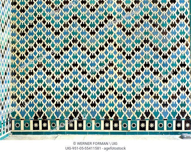 Ceramic tiles from the Alcazar of Seville