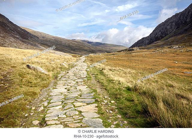 Ogwen Valley (Dyffryn Ogwen), Gwynedd, Snowdonia National Park, Wales, United Kingdom, Europe