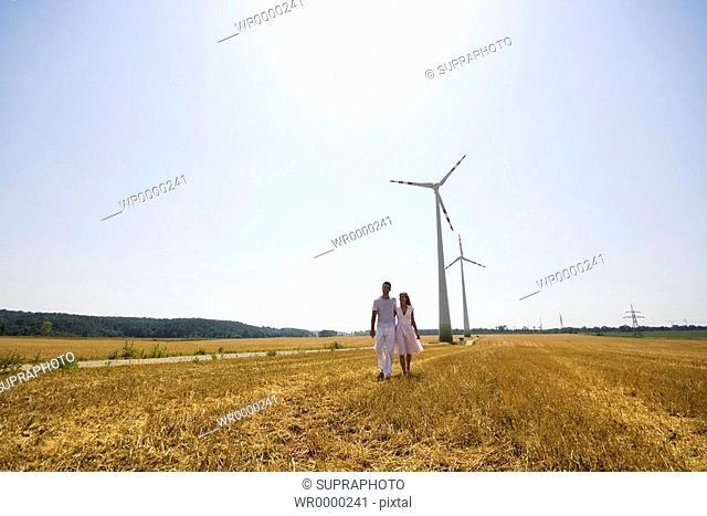Couple windmachines