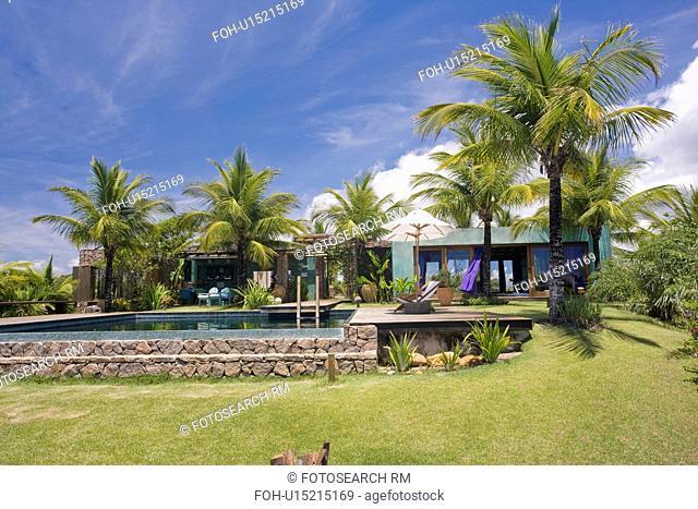 Swimmingpool at beach house in Brazil