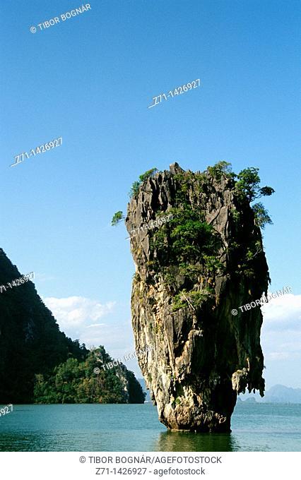 Thailand, Phang-Nga, Ko Khao Tapu, Nail Island