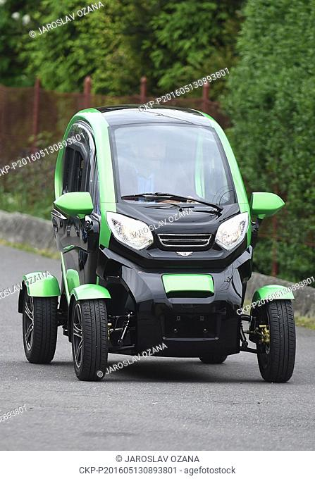 Czech company Velor-X-Trike launched its electric three-wheelers and four-wheelers produced in cooperation with its Chinese partners on the market today