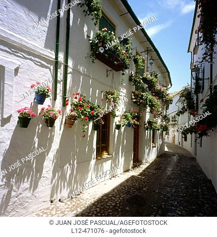 Barrio de la Villa, Priego de Córdoba, Córdoba province, Spain