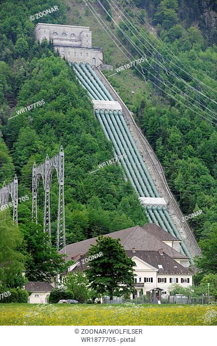 hydro electric power station Walchensee in Bavaria