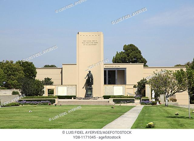 Cemetery in Los Angeles, California