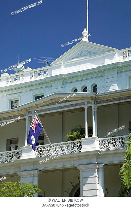 Australia, Queensland, Brisbane, Detail of the Queensland Club Building