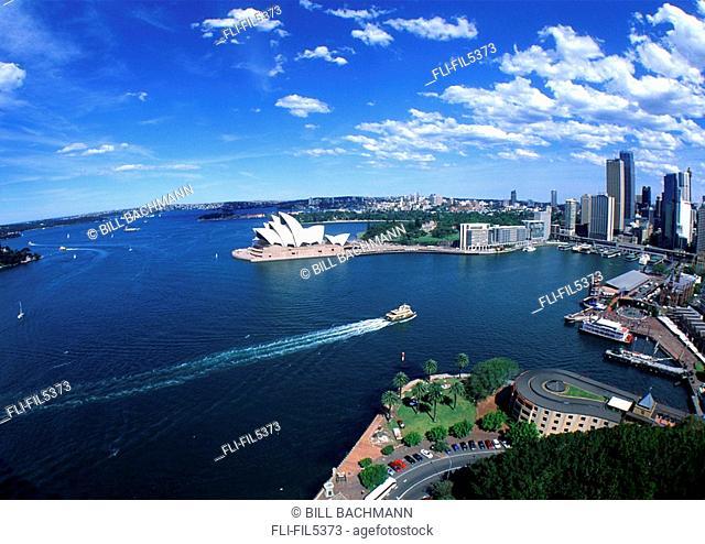Harbor and Opera House, Sydney, Australia