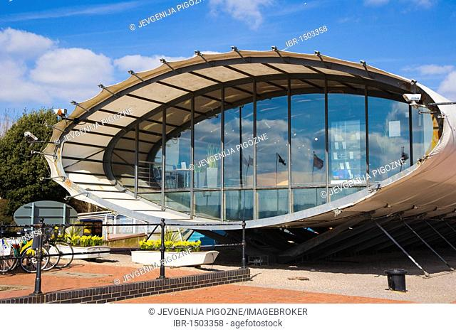 Cardiff Bay Visitor Centre, The Tube, Cardiff, Caerdydd, South Glamorgan, Wales, United Kingdom, Europe