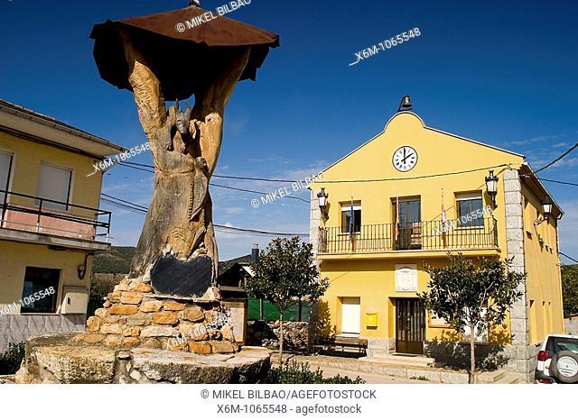 Borrenes village  El Bierzo region  Leon province  Castile and Leon  Spain  Europe