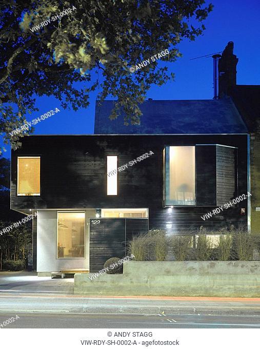 STEALTH HOUSE, LONDON, SE5 CAMBERWELL, UK, ROBERT DYE ASSOCIATES, EXTERIOR