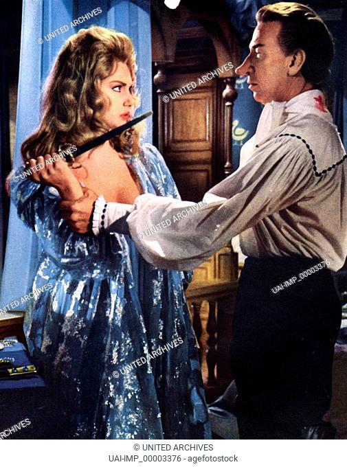 Cyrano und D'Artagnan, (CYRANO ET D'ARTAGNAN) IT-F-E 1963, Regie: Abel Gance, SYLVA KOSCINA, JOSE FERRER