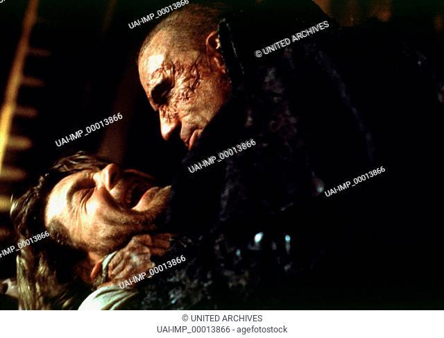 Mary Shelley's Frankenstein, (MARY SHELLEY'S FRANKENSTEIN) USA 1994, Regie: Kenneth Branagh, KENNETH BRANAGH, ROBERT De NIRO, Stichwort: Narbe, Würgen