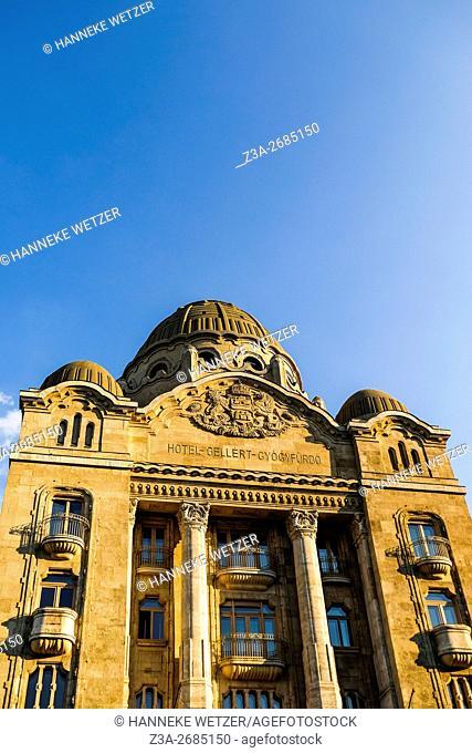 Hotel Gellert in Budapest, Hungary