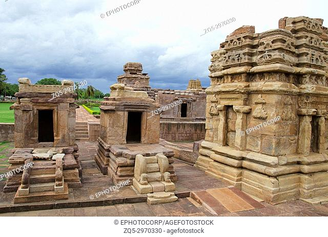 Aihole Temple Complex, Aiho?e , Bagalkot, Karnataka, India. Lies to the east of Pattadakal, along the Malaprabha River