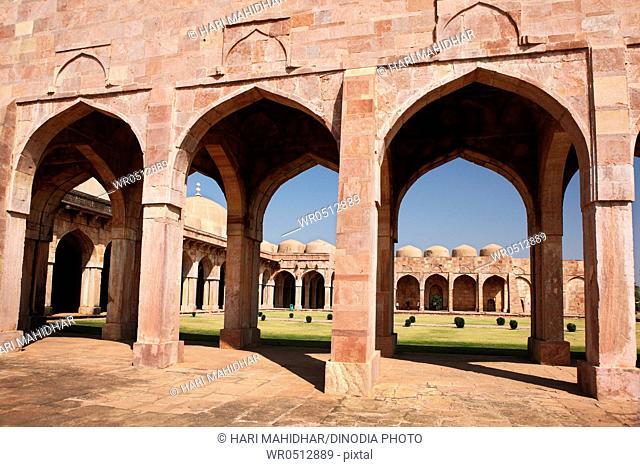 Jama masjid , Mandu , Dhar , Madhya Pradesh , India